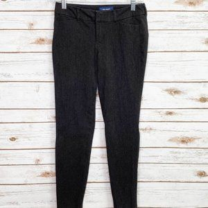 Old Navy pixie mid rise gray pants size 0